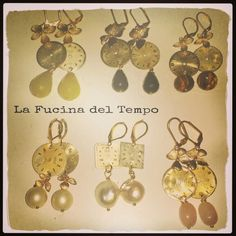 "Earrings ""senza tempo"" Available in store."