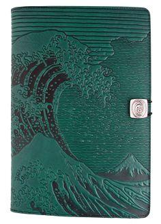 Leather iPad Mini Cover <br/>Hokusai Wave | 3 Colors