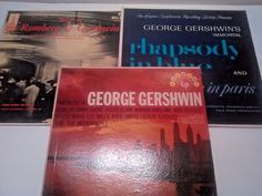 Lot of 3 Vintage Vinyl Records LP GEORGE GERSHWIN Kate Smith, Vintage Closet, Vintage Vinyl Records, Record Collection, Lp, Christmas Gifts, Vintage Armoire, Xmas Gifts, Christmas Presents