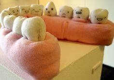 Plush teeth