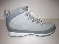official photos 17d87 4b0f7 Jordan IX Retro MCS Mens Baseball Cleats 15 Medium Grey White Cool Grey   Jordan