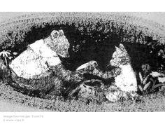 Komako Sakai : L'ours et le chat sauvage