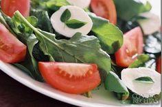 Receita de Salada manjericão em receitas de saladas, veja essa e outras receitas aqui!