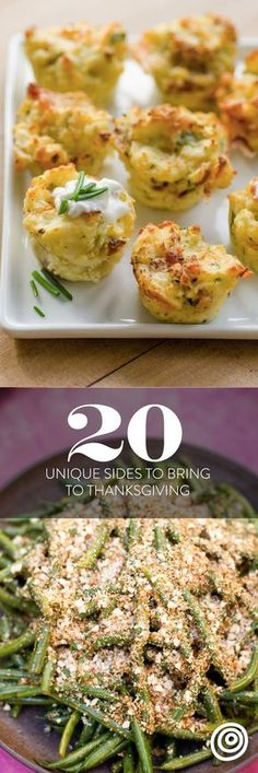 20 Unique Ideas for Side Dishes to Bring to Friendsgiving or Thanksgiving. Easy ideas from healthy salads (check out the slaw!) to indulgent appetizers and everything in between. These delicious sides will steal the show and keep everyone talking long after the holiday party.