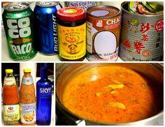 Yao Hon - Cambodian hot pot, I'd minus the vodka Entree Recipes, Asian Recipes, Cooking Recipes, Ethnic Recipes, Thai Cooking, Asian Cooking, Cambodian Food, Cambodian Recipes, Asain Food