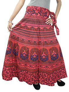 Womens Wrap Around Skirts Ethnic Bohemian Cotton Boho Indi Dress Mogul Interior http://www.amazon.com/dp/B00QYJSRP6/ref=cm_sw_r_pi_dp_Fh5Kub01ZT2NZ