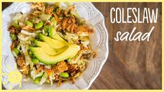 EAT | Perfect Coleslaw for a Potluck