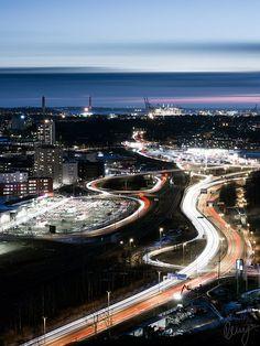 Hisingen by Night - Sweden | Flickr - Photo Sharing!