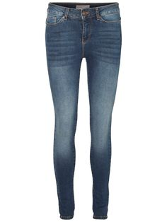 Normal waist skinny fit jeans from VERO MODA.