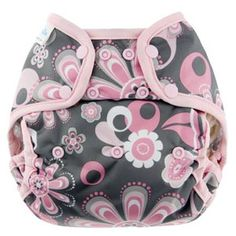 Blueberry Capri Cloth Diaper Snap Covers - Cozy Bums Diapers