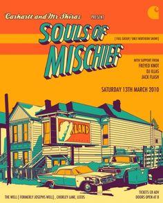 Hip hop poster 118.  Souls of Mischief