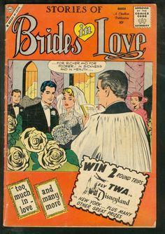BRIDES IN LOVE #17-CHARLTON ROMANCE-1960-GOOD GIRL ART | eBay
