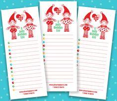 Jolly holiday list