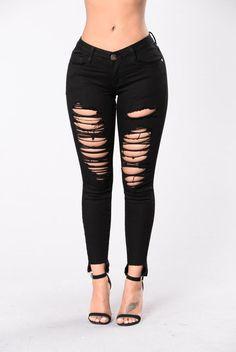 Social Broadcast Jeans - Black
