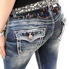 Angesagte Damenjeans der Marke Cipo & Baxx Modell WD-243 mit Stretch und Kontrastnähten jeansblau slimfit #stylefabrik #fashion #slimfit #jeans #frauen #denim #blau