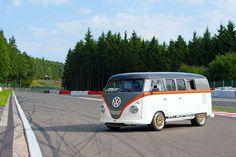 Race Taxi. Porsche Powered VW Bus