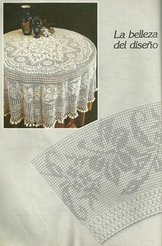 Мобильный LiveInternet Muestras y Motivos Especial Panos 1 Crochet Border Patterns, Crochet Tablecloth Pattern, Crochet Doily Diagram, Filet Crochet Charts, Crochet Doilies, Crochet Round, Crochet Home, Mantel Redondo, Crochet Dreamcatcher