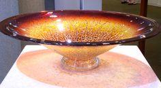 Art Glass Platter from Kela's...a glass gallery on Kauai