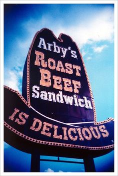 arby's sign... rockin' it old school... #richmond #virginia #vintage