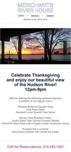 Thanksgiving at Merchants River House