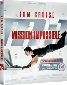Hollywood Cinema, Mission Impossible, Tom Cruise, 25th Anniversary, Digital, Movies, Movie Posters, Films, Film Poster