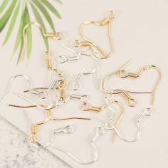 Simple 925 silver hypoallergenic ear hook earrings apparel Ear Studs tag Jewelry accessories DIY handmade jewelry accessories -in Jewelry Findings & Components from Jewelry & Accessories on Aliexpress.com | Alibaba Group #diystudearringssilver
