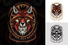 Fox Head, Color Vector, Batman, Darth Vader, Illustrations, Superhero, Black And White, Ornaments, Fictional Characters