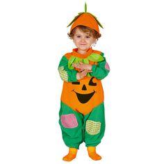 Déguisement Citrouille Bébé Halloween #déguisementsenfants #costumespetitsenfants #nouveauté2016