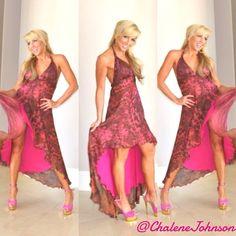 fashion dress pink #chalenejohnson #chalenesfashion