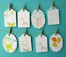 images about LetterpressGift tags