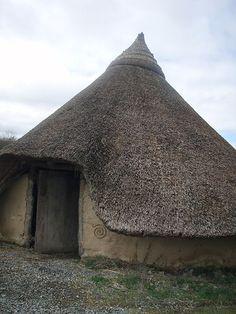 Celtic roundhouse mislabeled as Viking-Era House