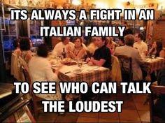 Italian family...