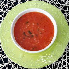 Miss Kekik: Domatesli Pirinç Çorbası