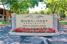 Rivercrest Apartments | 7928 La Riviera Drive, Sacramento, CA  offers one, two and three bedroom apartments nestled near the American River yet clost to all that Sacramento has to offer.