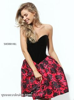 4a32b865c8 Prom and Homecoming Dresses Sherri Hill 50578 Sherri Hill One Enchanted  Evening - Designer Bridal