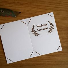 Wedding invites order coming along.... #jld #order #new #etsy #wedding #weddinginvites