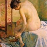 The Bather by Theo van Rysselberghe