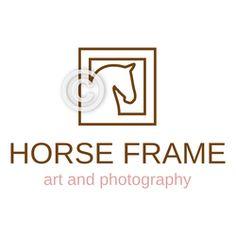 Horse Head Logo - Horse Frame by Joni Solis - for sale @ Horse-Logos.com