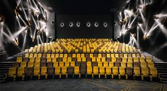 http://globalhop.indiaartndesign.com/2017/05/drama-unfolds-at-omnijoi-international.html Drama unfolds at Omnijoi International Cinema, Shanghai:Designed by Hong Kong based @onepluspartnership with an articulate, overriding theme throughout, this Shanghai cinema house is inspired by the rails used for tracking shots in the filming process. Check it out and leave us your comments here…