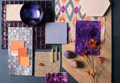 Heath by the Winchester Tile Company is Tile of the Year 2018! Pair it with deep purple fabrics, a touch of velvet, orange terracotta and warm wood for an on-trend 70s vibe.