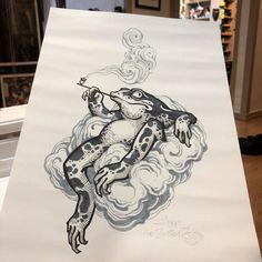 Japan Tattoo Design, Sketch Tattoo Design, Tattoo Sketches, Tattoo Drawings, Frog Tattoos, Body Art Tattoos, Sleeve Tattoos, Traditional Japanese Tattoo Flash, Japanese Leg Tattoo