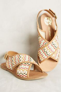 House of Harlow Izzy Sandals - anthropologie.com $175