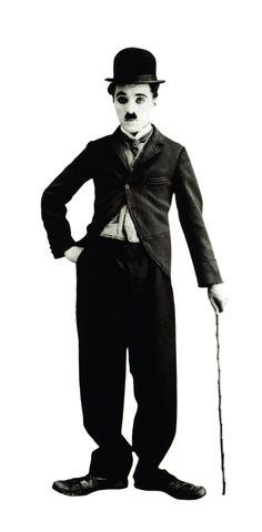"(*) Charles Chaplin como ""Charlot"""