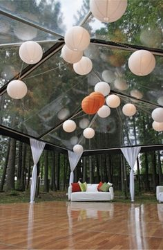 clear tent...awesome!!
