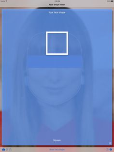 Face Shape Meter - find out your face shape from picture by VisTech.Projects LLC