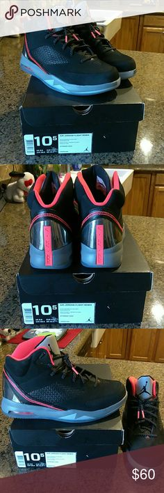 Jordan shoe mens 10.5 Brand new wore one time for 5 minutes.. Jordan Shoes Athletic Shoes