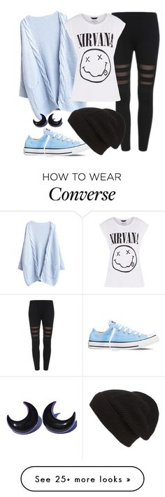 """ootd 23/10/15"" by crazymofoxd1 on Polyvore featuring Converse and Phase 3"