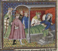 Grande Bible historiale complétée. Auteur : Maître du livre d'heures de Johannette Ravenelle. Enlumineur Date d'édition : 1395-1401 Type : manuscrit