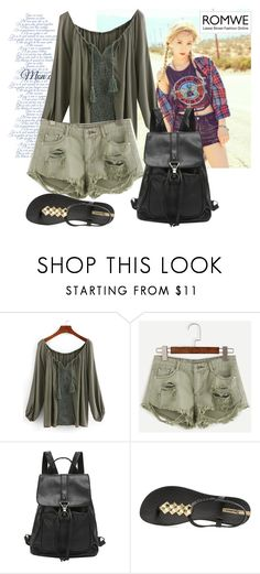 """""""Romwe  7"""" by aida-1999 ❤ liked on Polyvore featuring IPANEMA"""