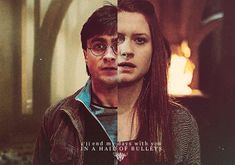 harry potter and ginny weasley - I'll end my days with you in a hail of bullets Harry Potter Ginny Weasley, Harry Potter Friends, Harry And Ginny, Harry Potter Ships, Harry Potter Facts, Harry Potter Fan Art, Harry Potter Books, Ginny Weasly, Big Bang Theory